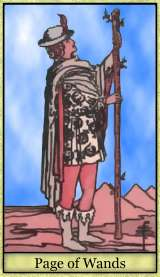 Valet of Wands